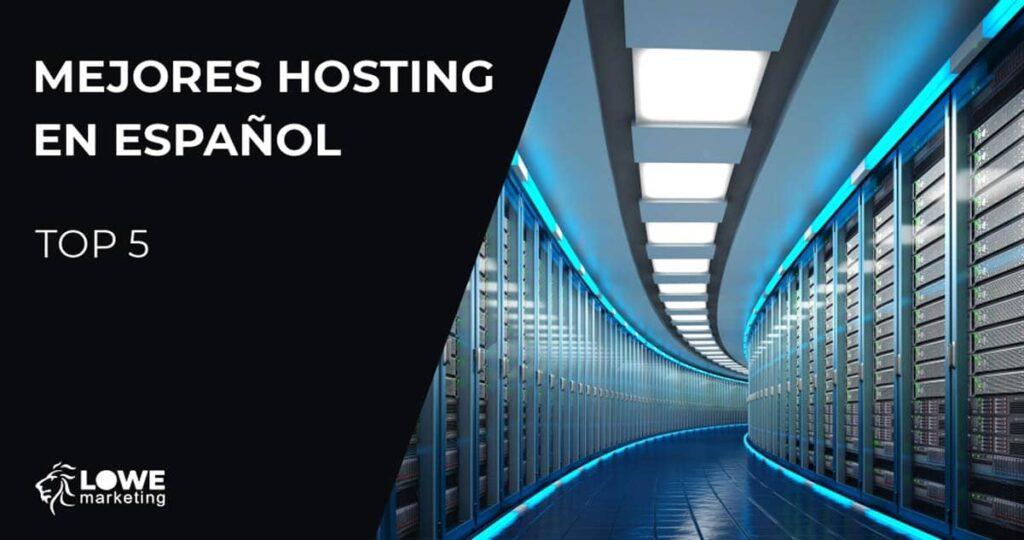 mejores hosting español web