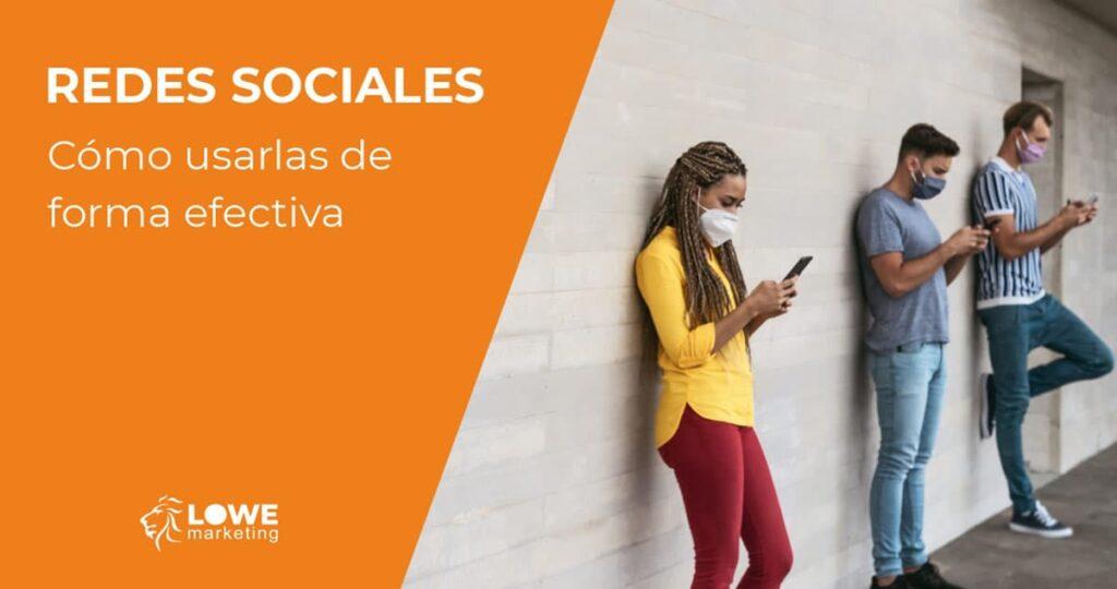 redes sociales como usarlas
