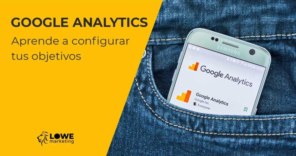 configurar objetivos googleanalytics