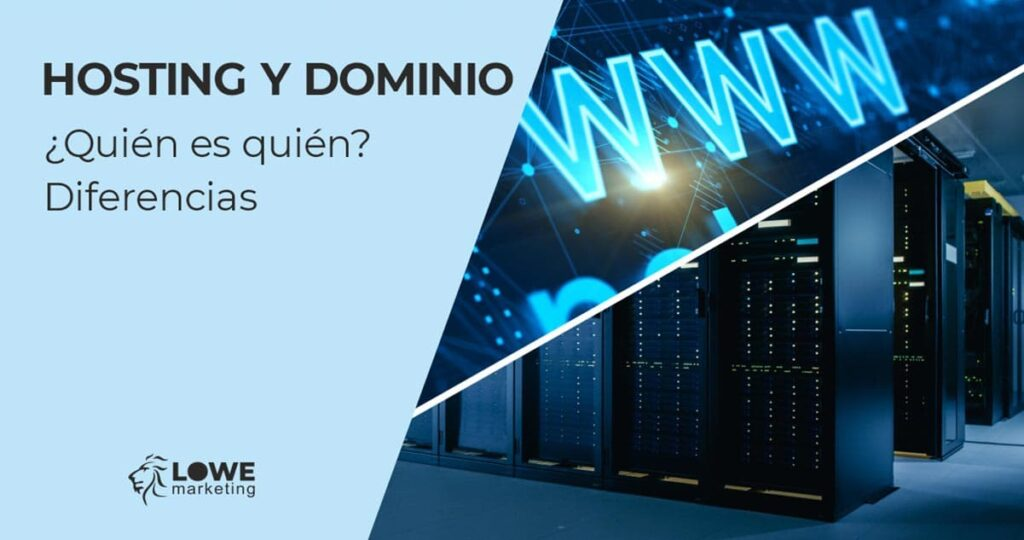 hosting dominio diferencias