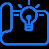 Branding de Lowe Marketing_azul